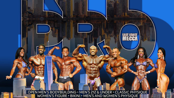 Rick Collins and CGM&B Sponsor IFBB New York Pro