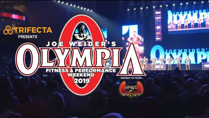Rick Collins Heads to Las Vegas for 2019 Olympia Fitness & Performance Weekend Taking Place September 12-15